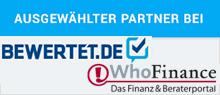 bewertet.de Partner Auszeichnung GZ Invest